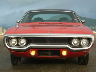 1971 Plymouth Satellite Survivor Car Road Runner Cuda Charger photo
