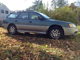 2000 Subaru Outback Base Wagon 4 - Door 2.  5l photo