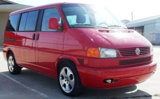 2002 Volkswagen Eurovan Mv Van 3 - Door 2.  8l photo