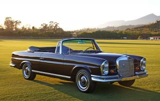 1967 Mercedes 250se Cabriolet: 4spd Trans,  Exceptionally & Well Sorted photo