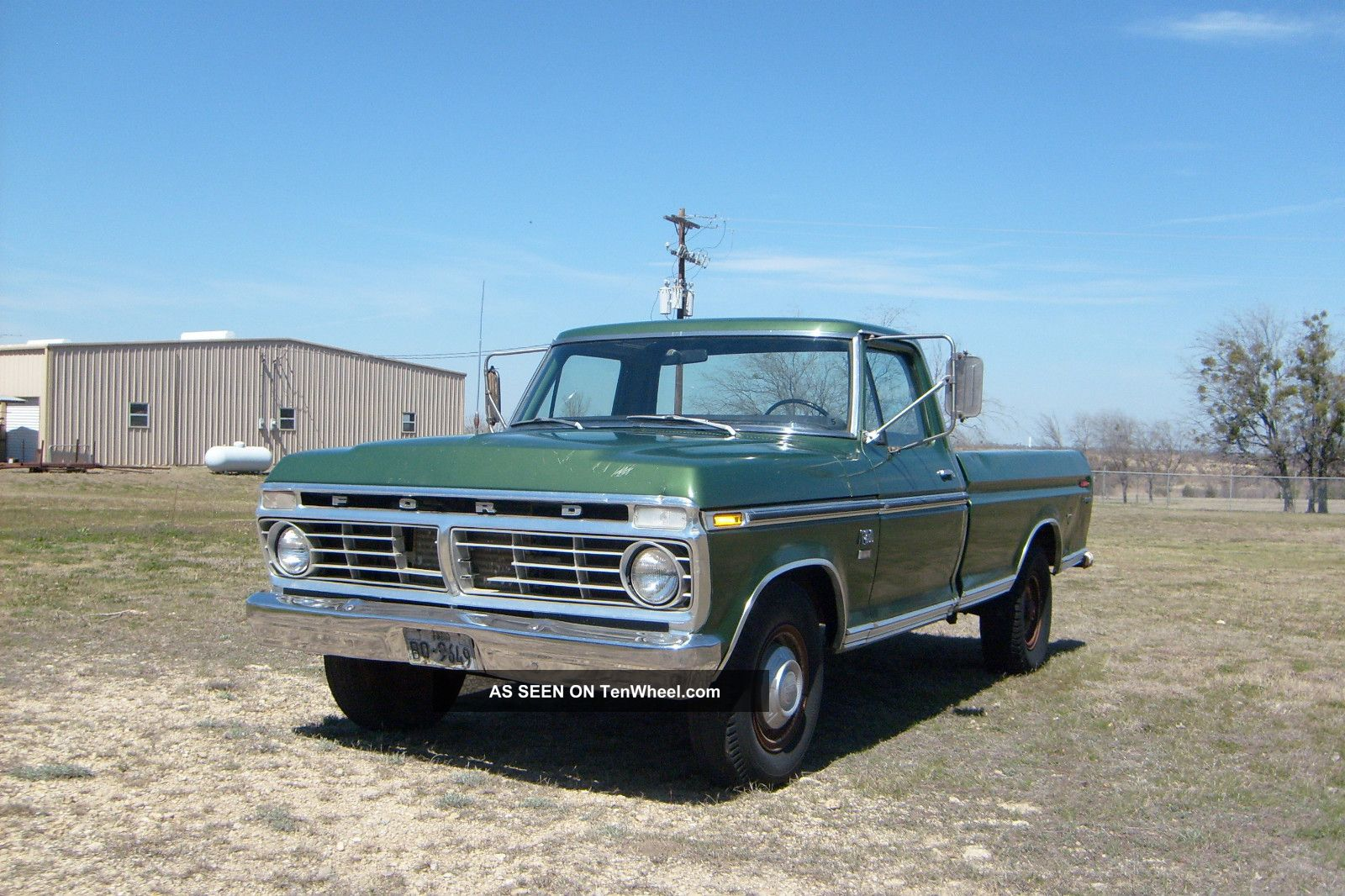 1974 ford f250 ranger camper special 460 engine f 250 photo 2 1974