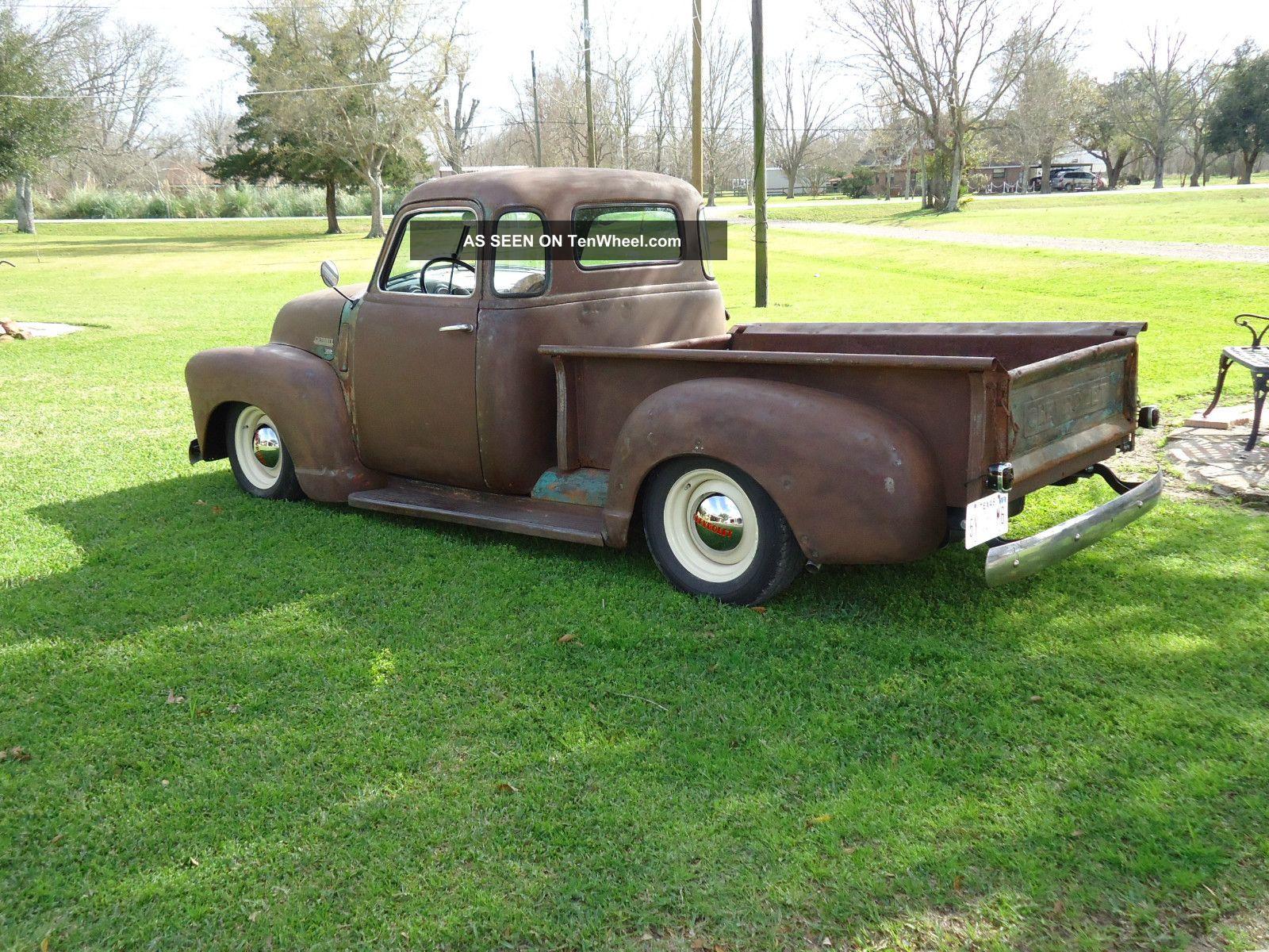 1950 Chevrolet 5 Window Rat Rod Truck