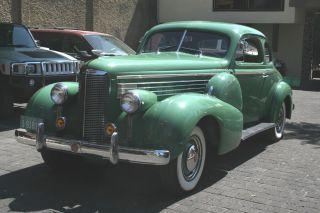 Prewar Cadillac Lasalle 1938 Coupe Vintage Collectable Rare photo