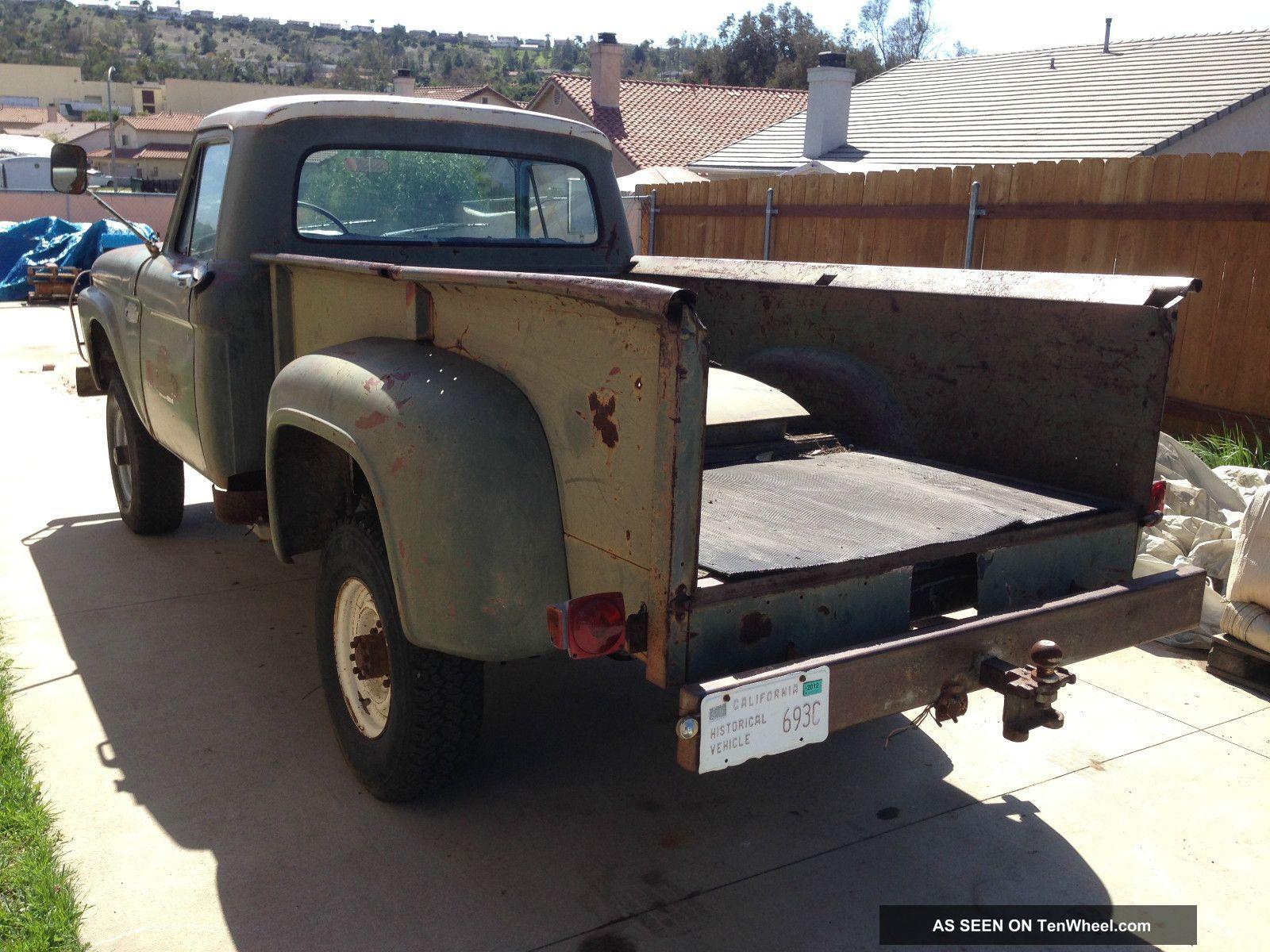 1964 Ford Truck 4x4 F 250 1965 Pickup