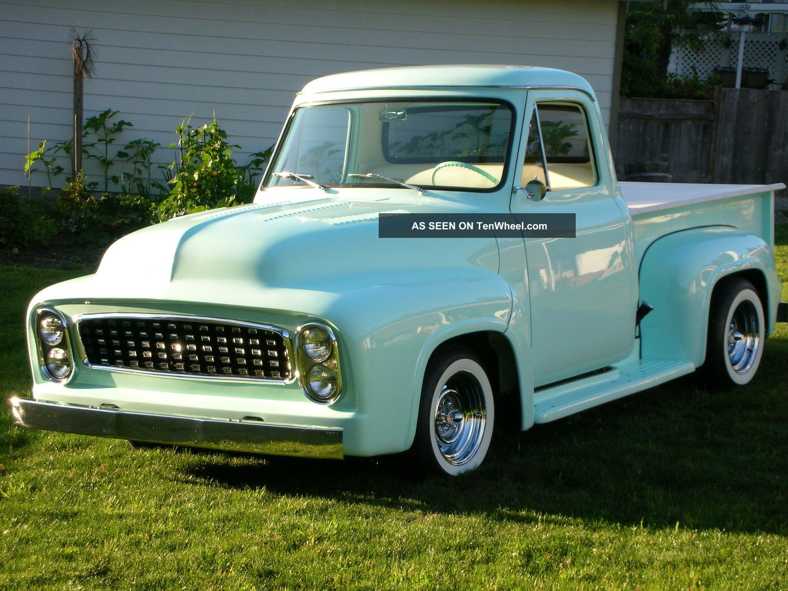 1954 ford f100 custom truck. Black Bedroom Furniture Sets. Home Design Ideas