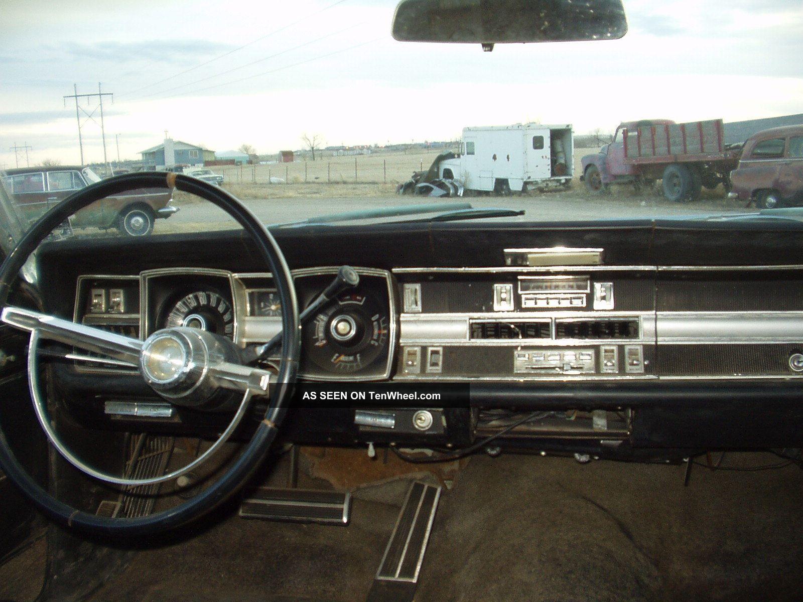 1967 Dodge Monaco Hardtop Rust Bucket Seats Disk Brakes 440