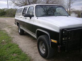 1991 Gmc Suburban (4x4) Hunting Or Recreational / Daily Driver photo