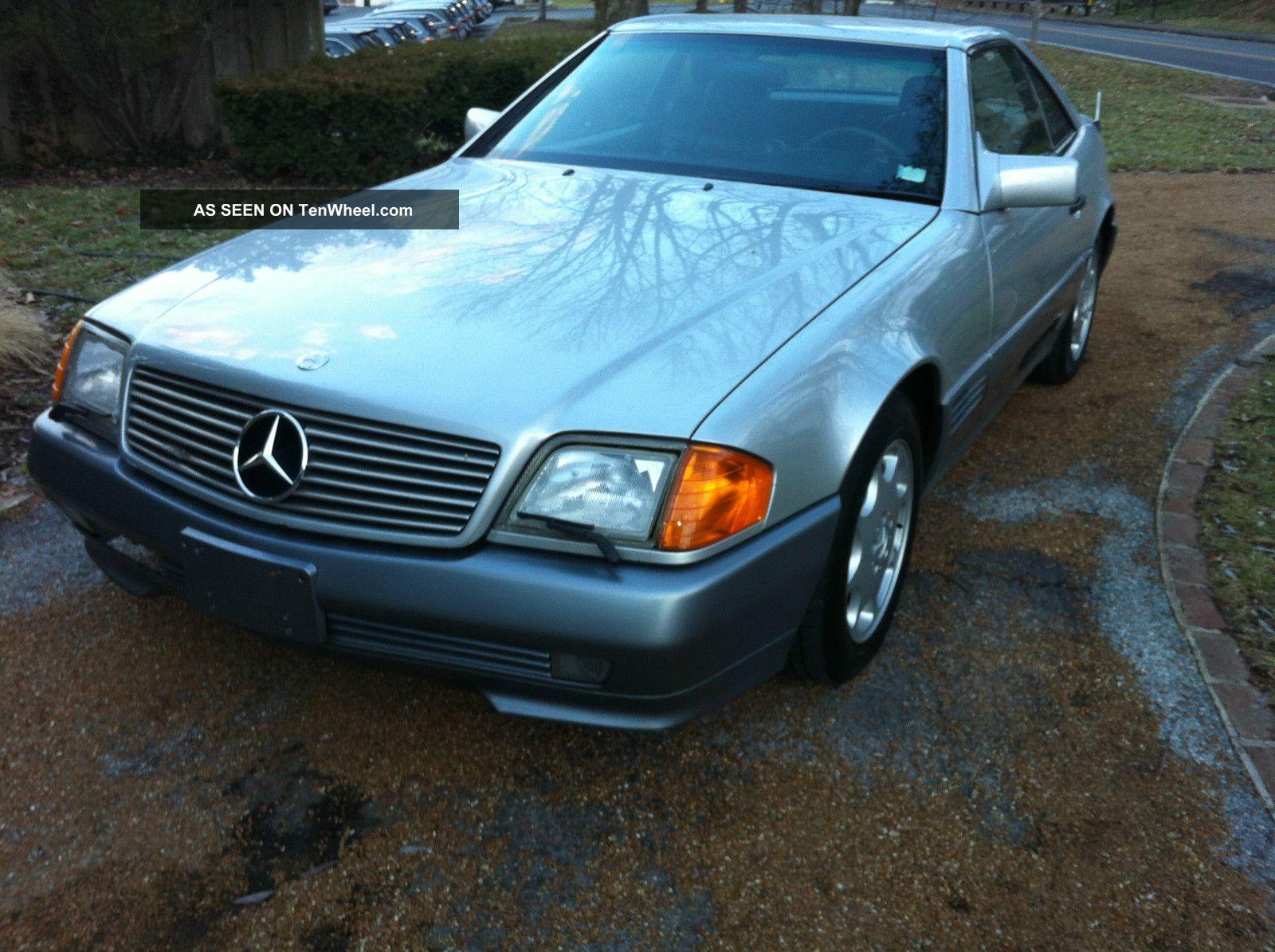 1991 Mercedes - Benz Sl500 Extra Cafax Hardtop 500-Series photo