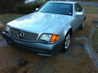 1991 Mercedes - Benz Sl500 Extra Cafax Hardtop photo