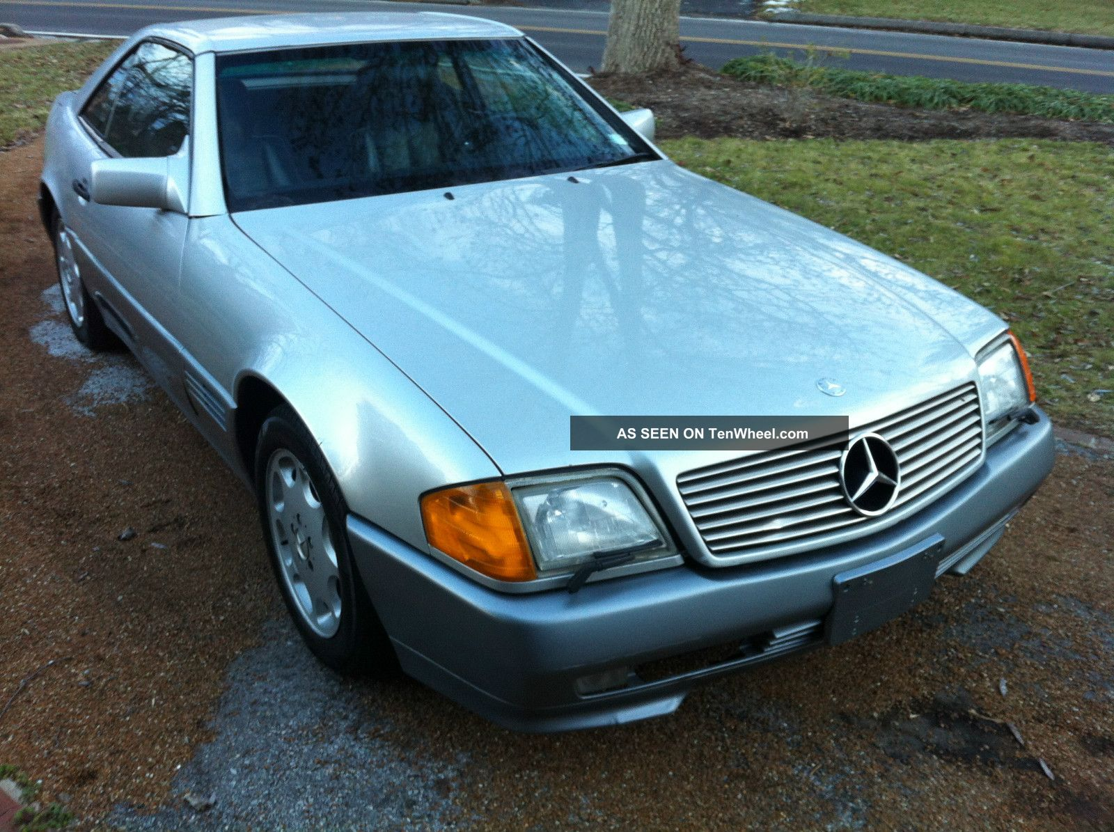1991 mercedes benz sl500 extra cafax hardtop for 1991 mercedes benz