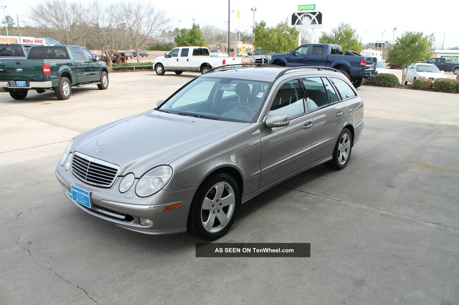 2004 Mercedes Benz E500 4matic Wagon 4 Door 5 0l