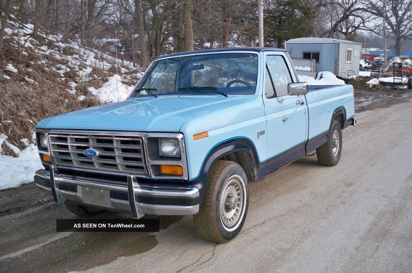 1984 Ford F - 150 Only 70k Orginal Paint Pickup F-150 photo