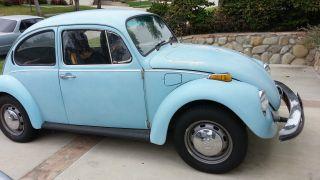 1974 Vw Beetle Bug Classic photo