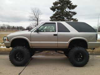 1999 Lifted Gmc Jimmy 4x4 Solid Axle Offroad Crawler Trail Mud Truck Long Arm photo