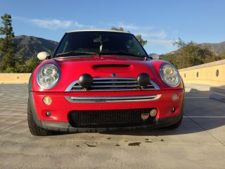 2006 Mini Cooper S - - Supercharged - Chili Red / White - 6speed photo