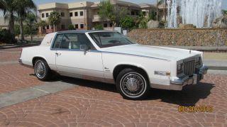 1980 Cadillac Eldorado Biarritz ++ Rare 5.  7 Litre ++ Sunny Arizona photo