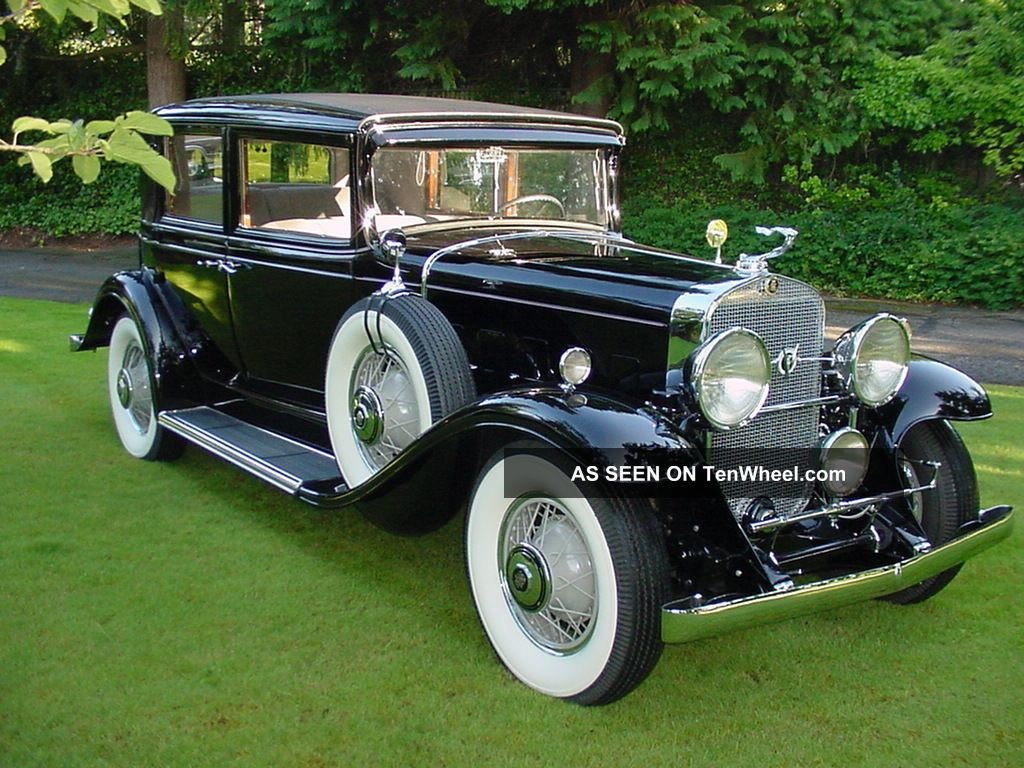 1931 Cadillac 355a V8 Town Sedan Fabulous Other photo