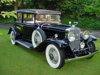 1931 Cadillac 355a V8 Town Sedan Fabulous photo