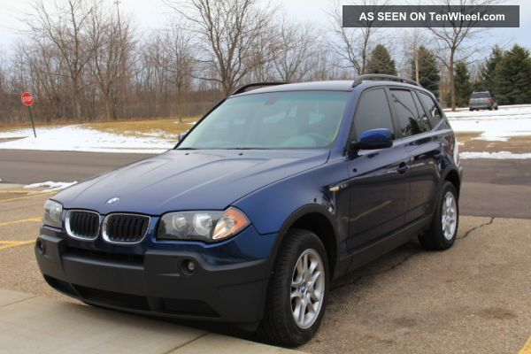 2004 bmw x3 2 5i sport utility 4 door 2 5l. Black Bedroom Furniture Sets. Home Design Ideas
