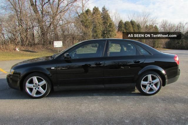 2003 audi a4 quattro base sedan 4 door 1 8l 5spd manual. Black Bedroom Furniture Sets. Home Design Ideas