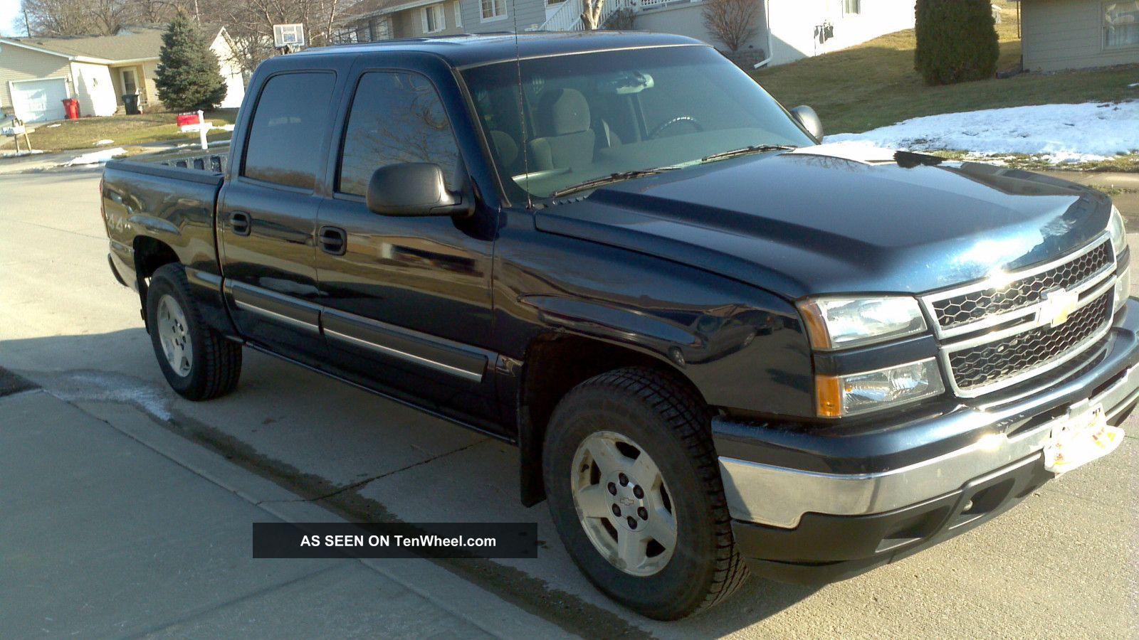 6.0 Powerstroke Specs >> 2007 Chevrolet Silverado 1500 Crew Cab 4x4 Truck
