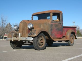 1934 Chevy 1 / 2 Ton Pickup Ratrod photo