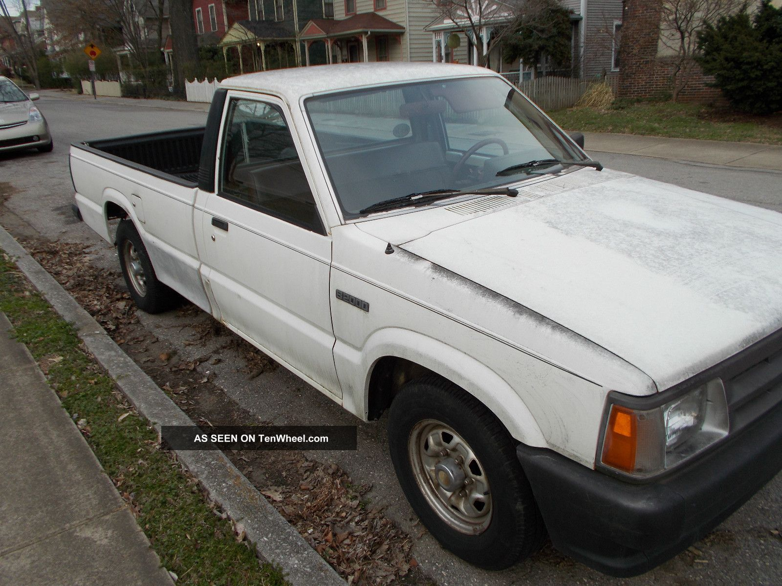 Mazda B Long Bed Truck K Orig Mi Speed White Lgw besides Mazda B Se Owner K Miles Show Truck Speed Man Cylinder Shipping further  likewise  together with . on 86 mazda b2000 long bed