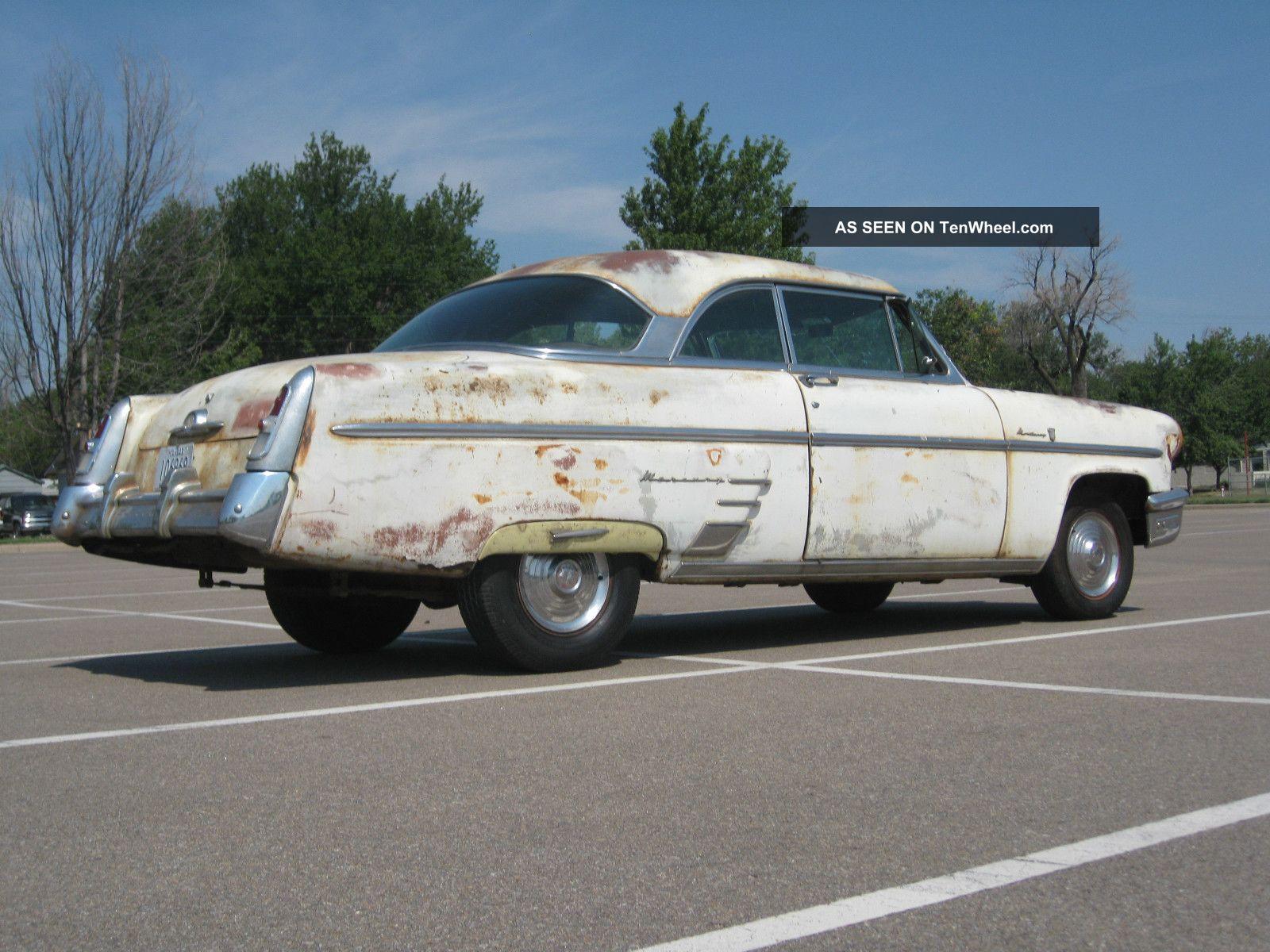 1953 mercury 2 door hardtop ratrod v8 auto
