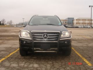2007 Mercedes - Benz Ml350 Black Suv 4 - Door 3.  5l; 20