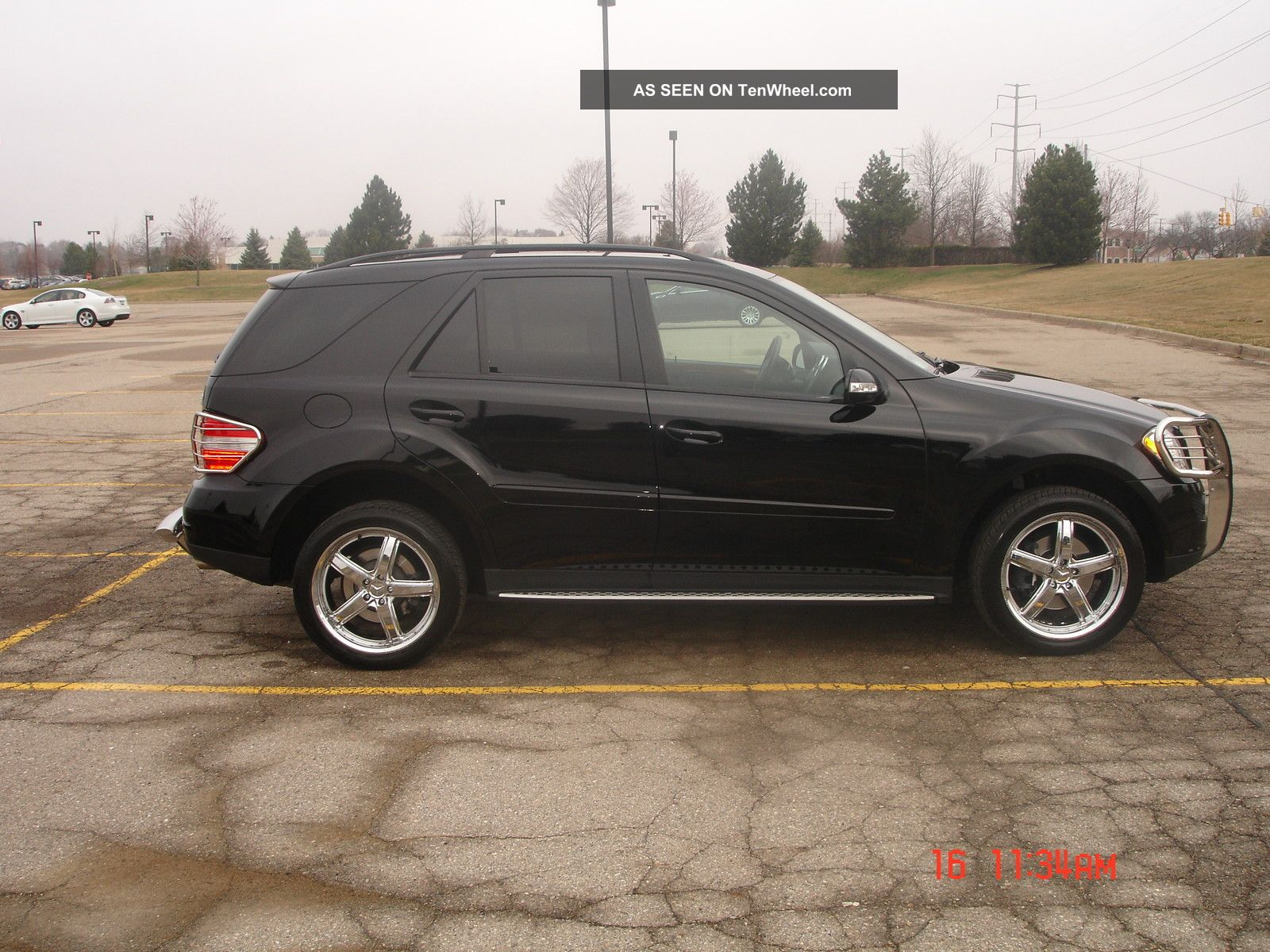 2007 mercedes benz ml350 black suv 4 door 3 5l 20 for 2007 mercedes benz suv
