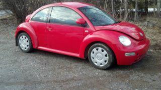 1999 Volkswagen Beetle Gls Hatchback 2 - Door 2.  0l photo