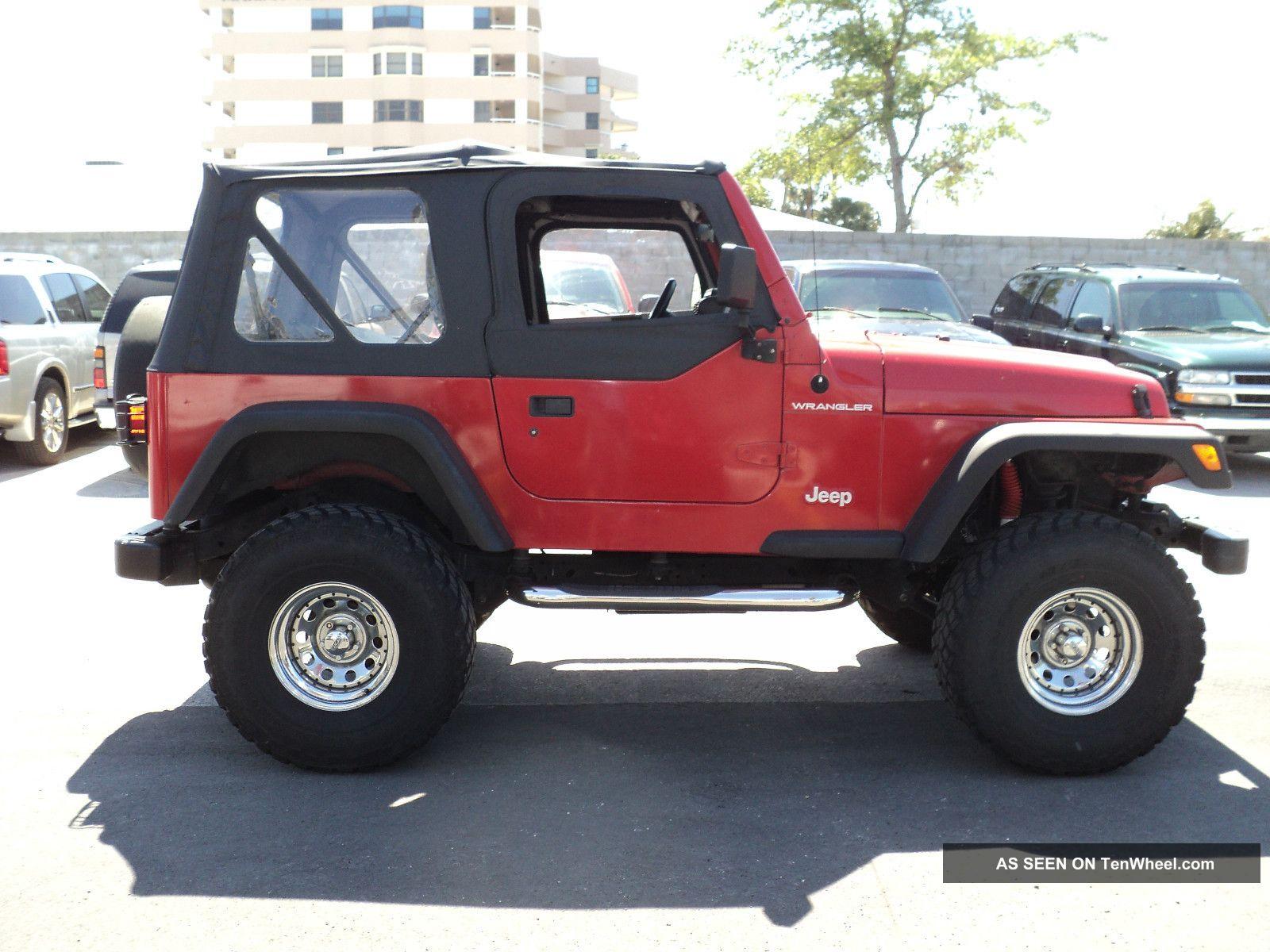 1997 Jeep Wrangler Se Sport Utility 2