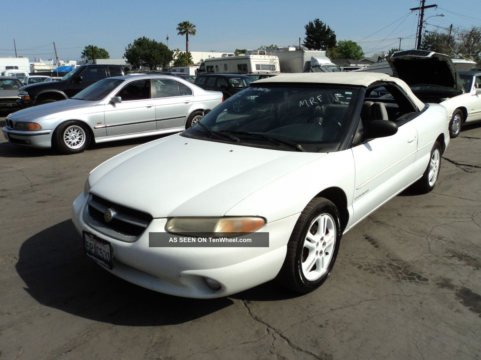 1997 chrysler sebring jxi convertible 2 door 2 5l. Cars Review. Best American Auto & Cars Review