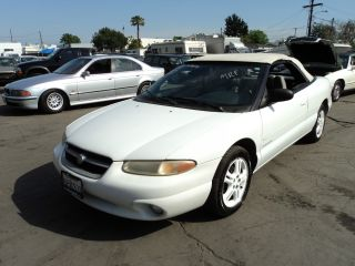 1997 Chrysler Sebring Jxi Convertible 2 - Door 2.  5l, photo