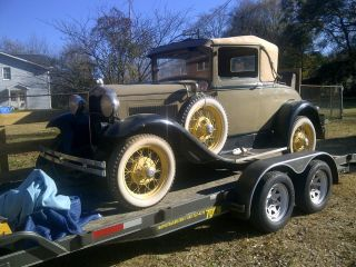 1931 Ford Model A Sport Coupe photo