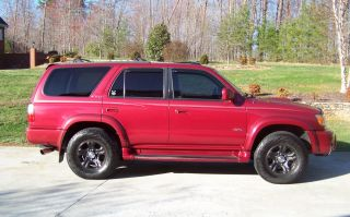 2002 Toyota 4runner Sr5 Sport Edition 4x4 photo