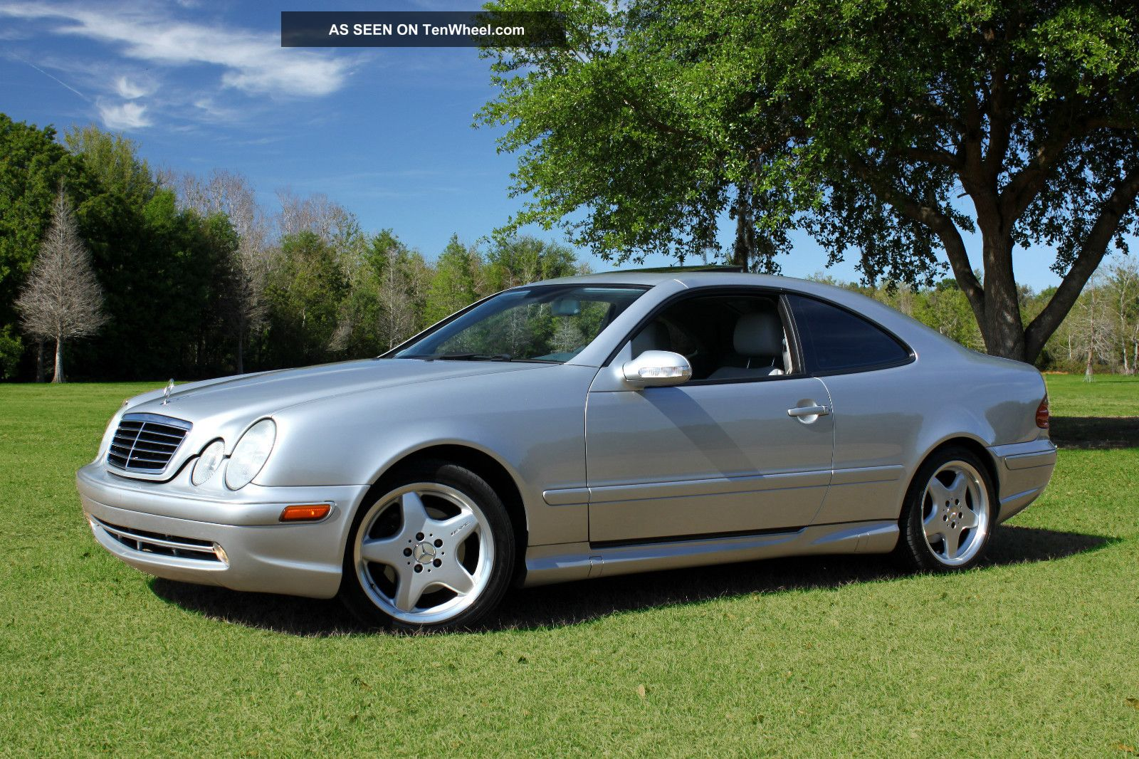 2001 mercedes benz clk430 base convertible 2 door 4 3l