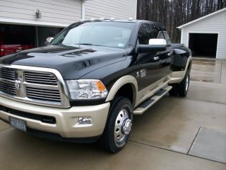 2012 Ram 3500, ,  Rear Dvd,  Laramie Longhorn Extended Mega Cab photo