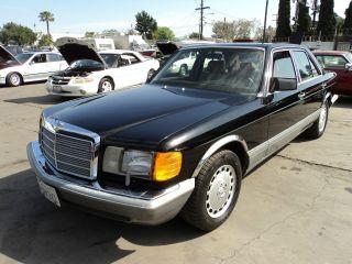 1988 Mercedes 300se, photo