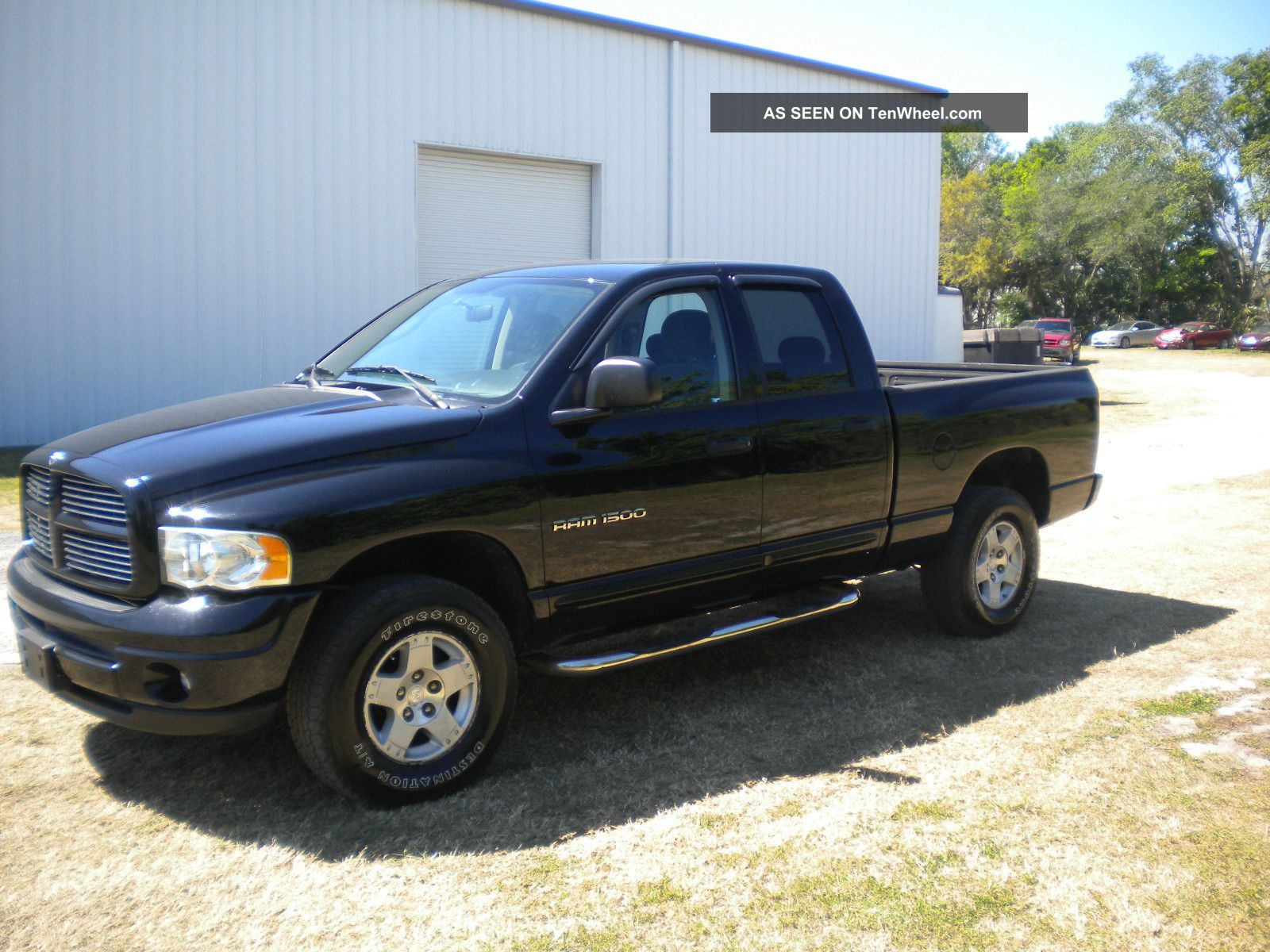 2004 dodge ram 1500 magnum v8 4x4 repairable. Black Bedroom Furniture Sets. Home Design Ideas