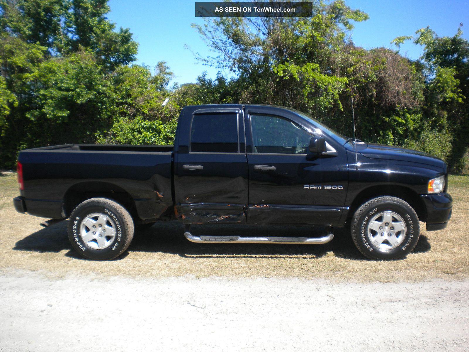 2004 Dodge Ram 1500 Magnum V8. 4x4 Repairable