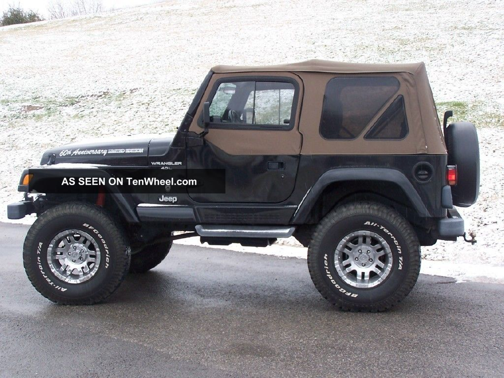 2001 jeep wrangler 60th anniversary edition. Black Bedroom Furniture Sets. Home Design Ideas