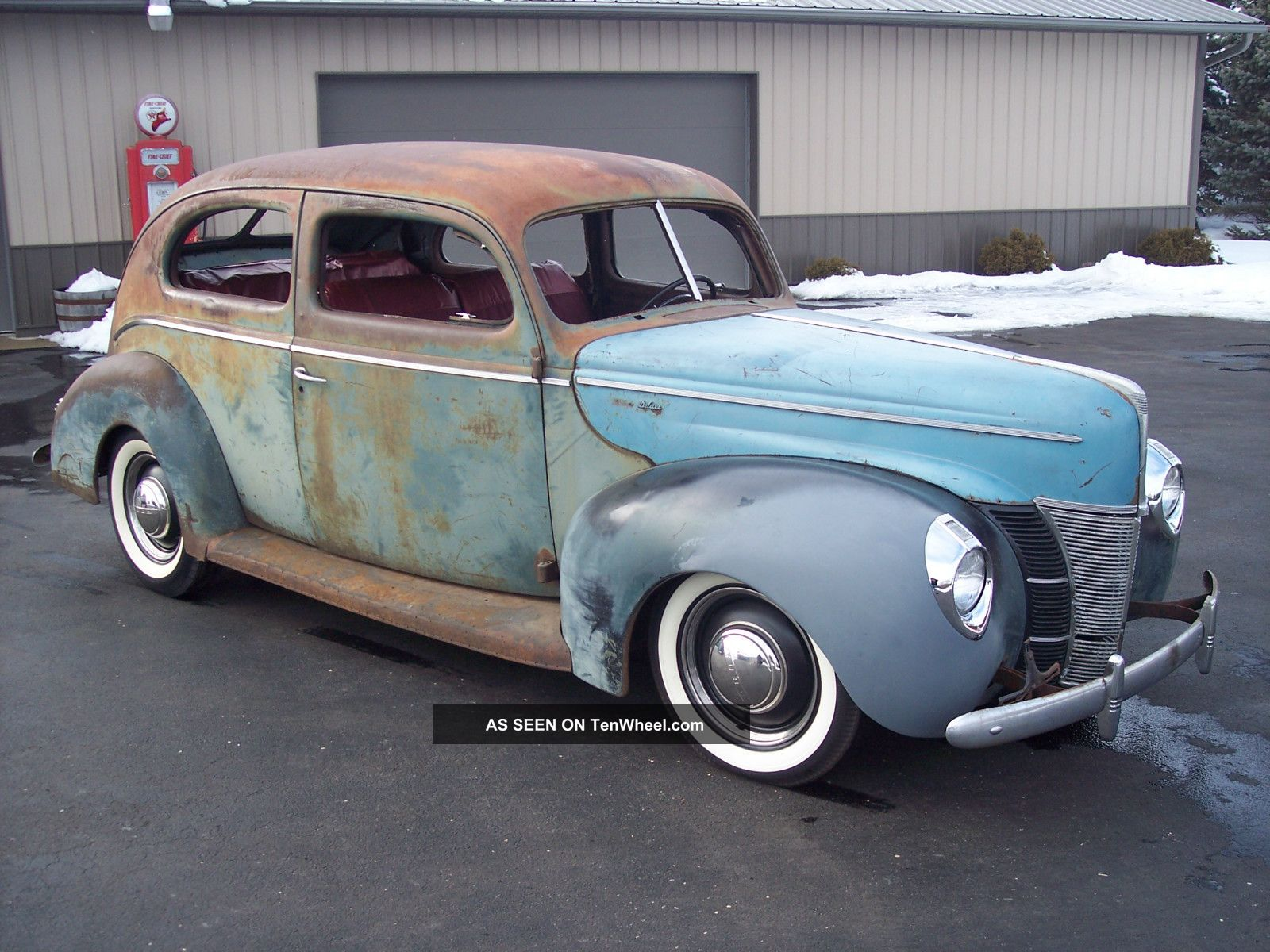 1940 ford 2 door sedan deluxe hot rod rat scta for 1940 ford deluxe two door business coupe