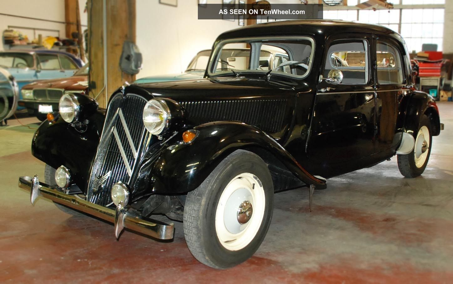 1957 Citroen Traction Avant Ii Normale By Well Known Citroen Enthusiast