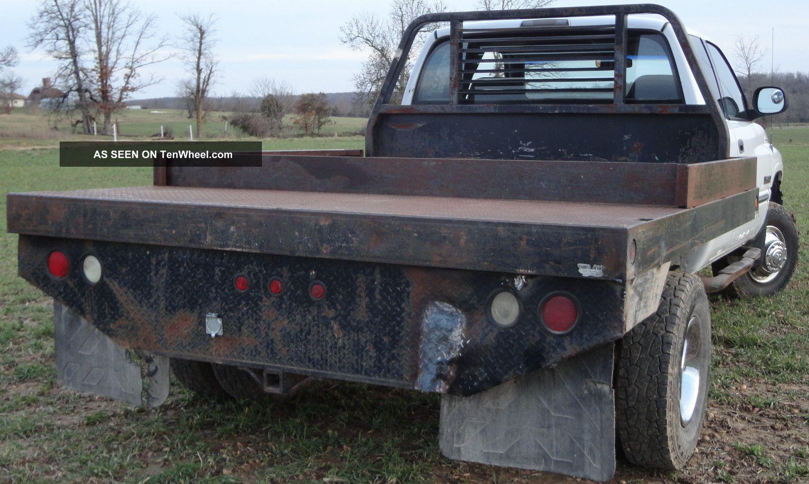 Dodge Ram X Flatbed Laramie Slt Nr Lgw on Dodge Ram 2500 Flatbed
