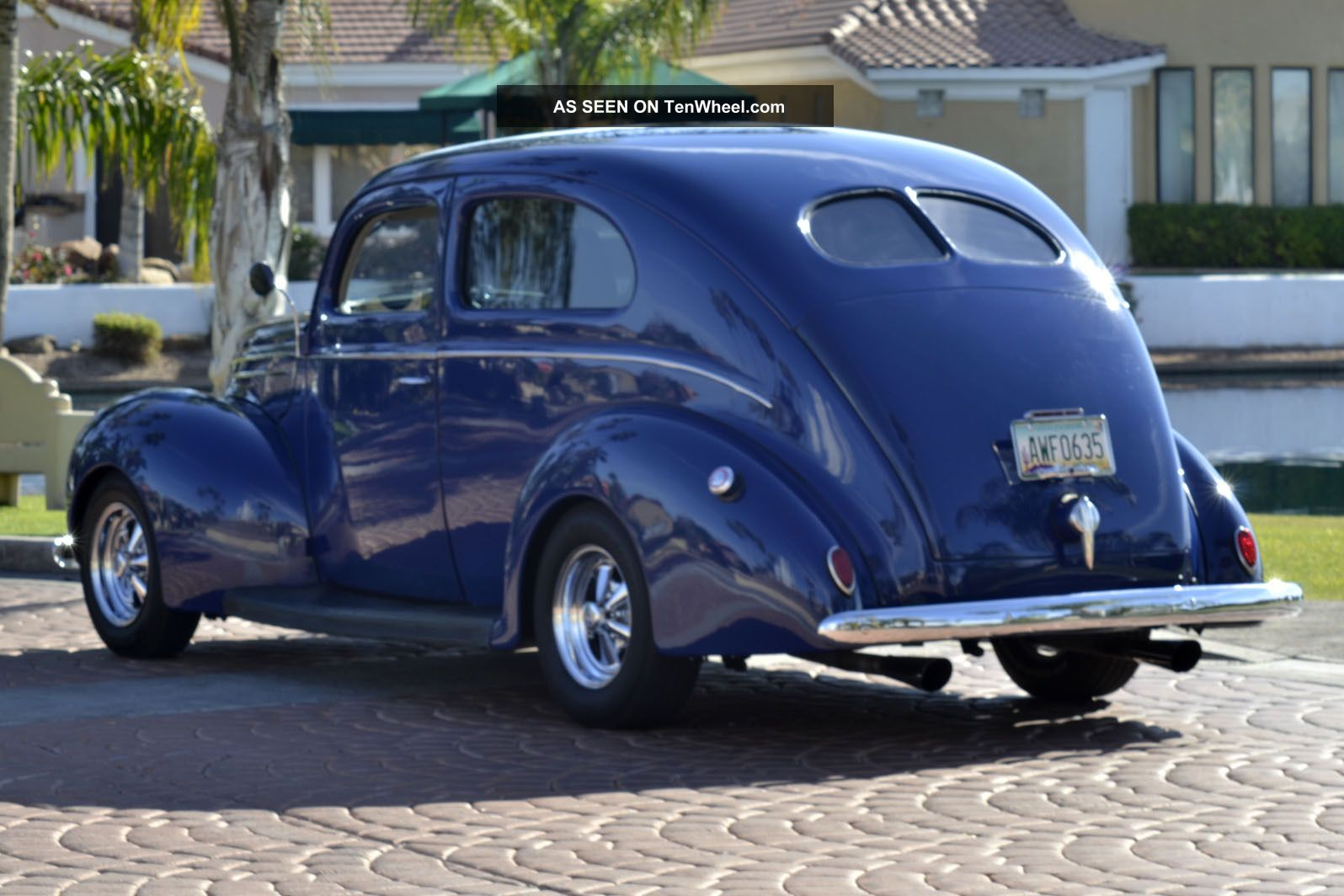 1939 ford deluxe 2 door sedan retro street hot rod show car other