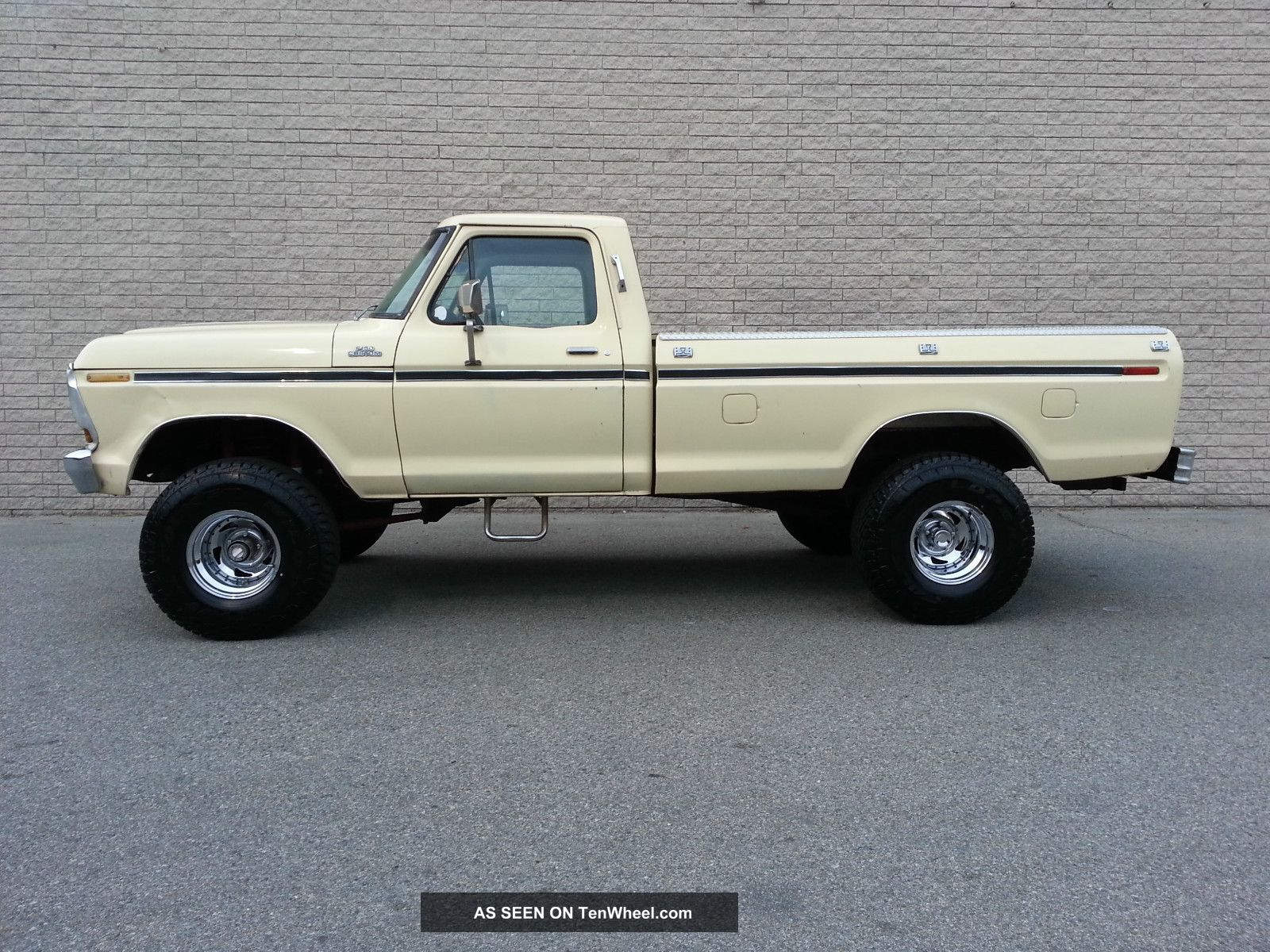 1979 ford f150 4x4 custom 351 v8 rust 4 inch lift automatic 4wd 79 f 150