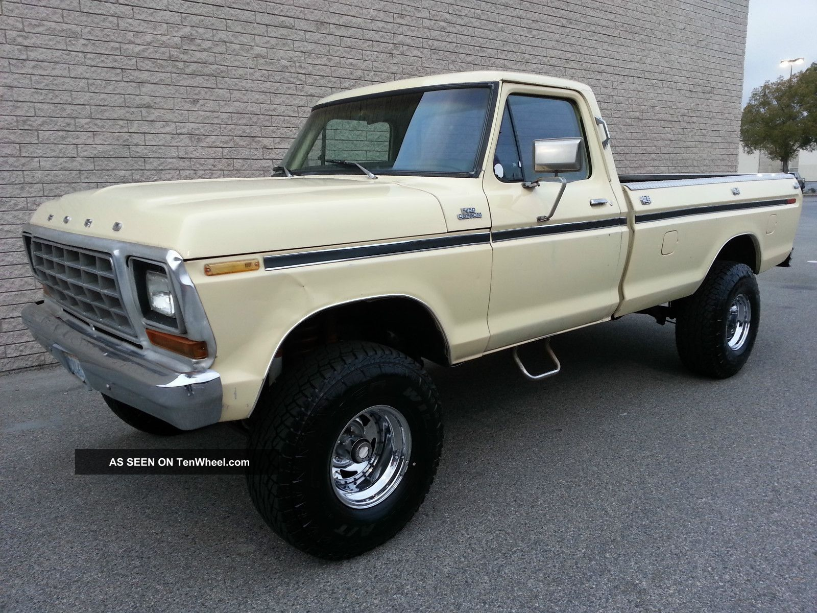 1979 Ford F150 4x4 Custom 351 V8 Rust 4 Inch Lift Automatic 4wd 79 F