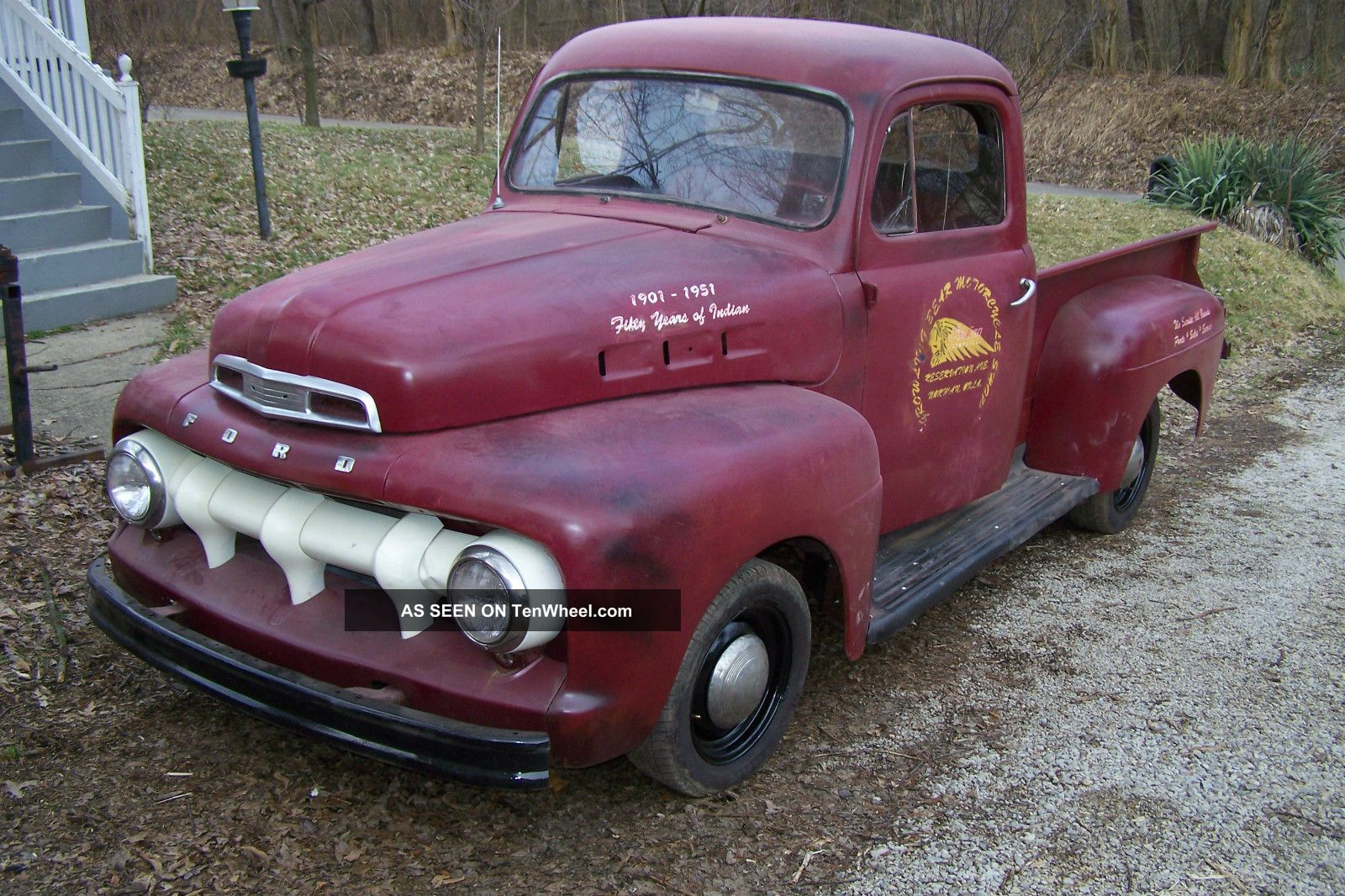 1952 Ford F - 1 Pickup Barn Find Great Hot Rod Rat Rod