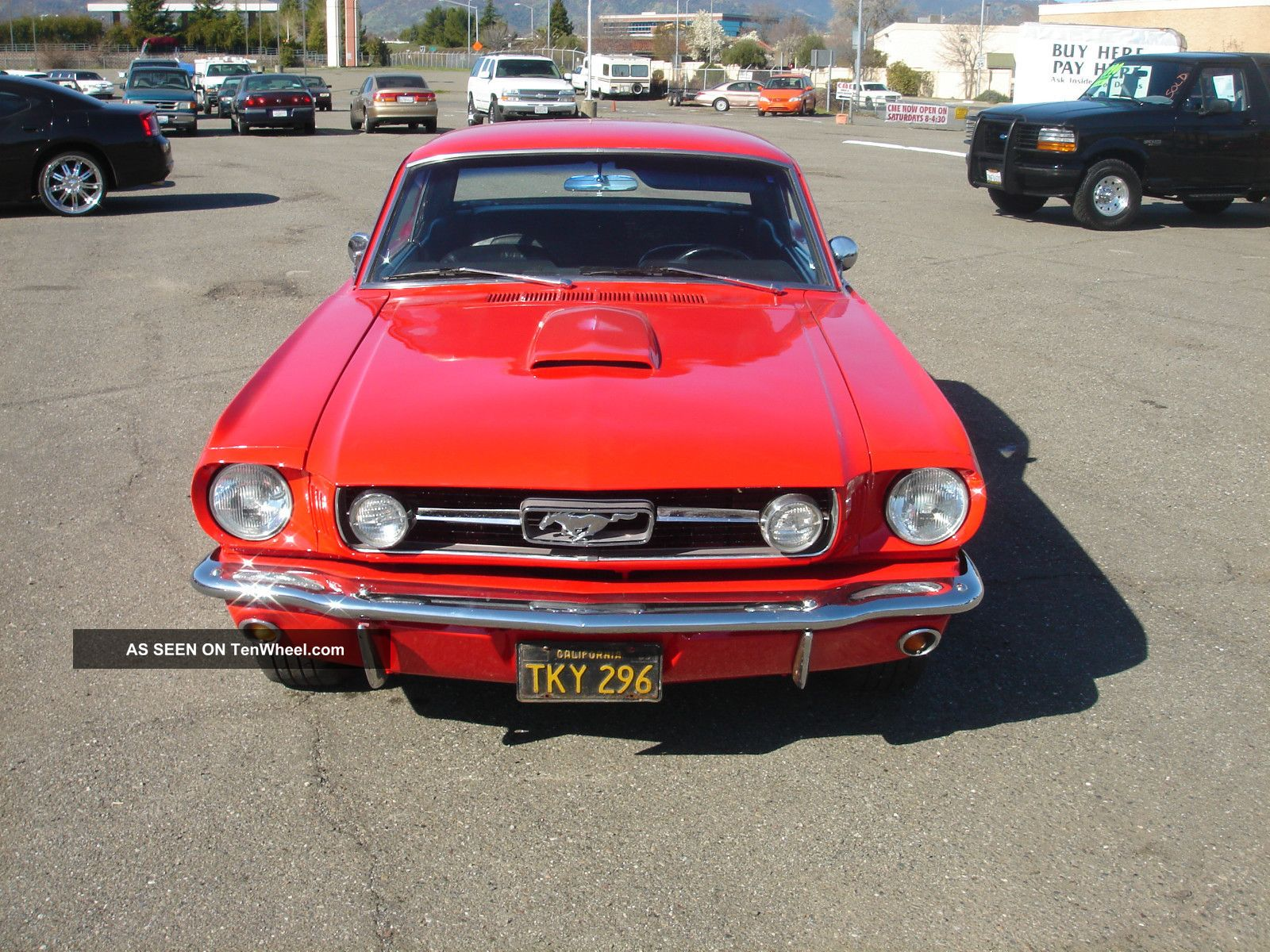 from Urijah 5spd tranny for ford mustang